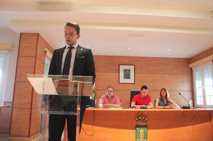 Toma posesión el nuevo concejal del Partido Popular en Cabanillas, Carlos Saz