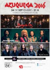 A la venta las entradas para el concierto de Mago de Öz, Medina Azahara y Tierra Santa en las fiestas de Azuqueca