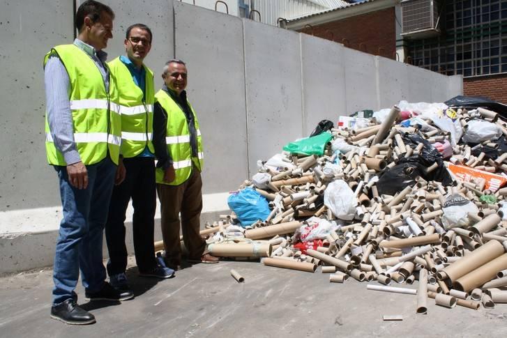 La MAS recicla los 50.000 rollos de cartón recogidos en los colegios durante el curso