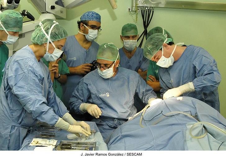 Las operaciones de tabique nasal suponen la cuarta parte de las intervenciones realizadas por el servicio de Otorrinolaringología de Guadalajara