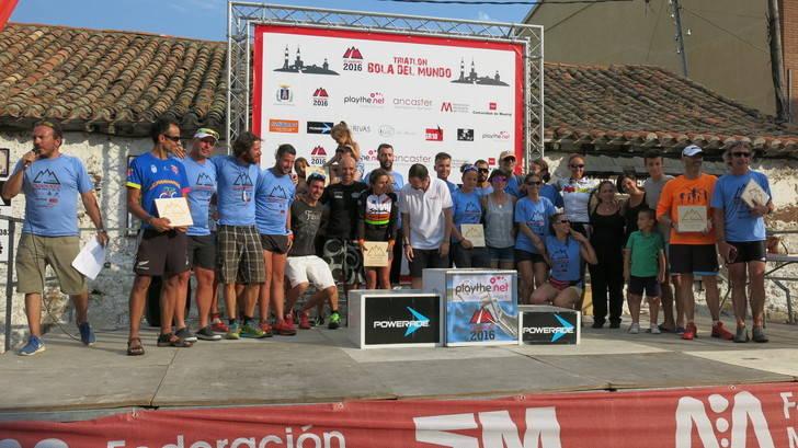 Récord de participación en el IV Bola del Mundo, probablemente el triatlón más duro de Europa