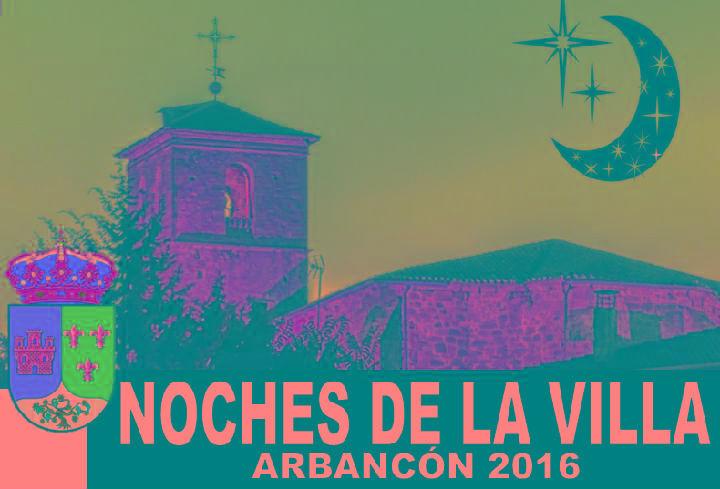 Nueva edición el programa de verano Noches de la Villa en Arbancón