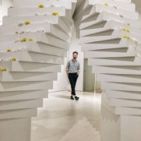 Juan Carlos Pajares ha presentado su nueva colección en el Museo Francisco Sobrino
