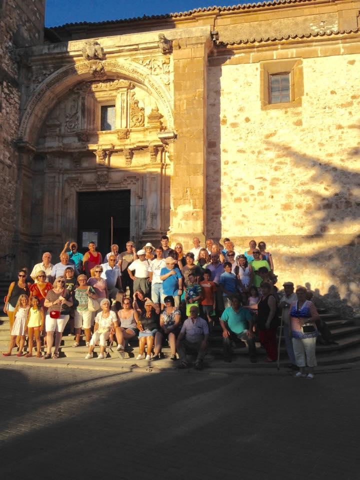 Los vecinos de Illana visitan Sigüenza y Jadraque