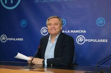 Cañizares denuncia la parálisis que sufre Castilla-La Mancha por la falta de trabajo y la inoperancia de Page