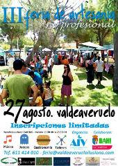 La Agrupación Independiente Valdeaveruelo organizará este sabado la III Feria de Artesanía No Profesional