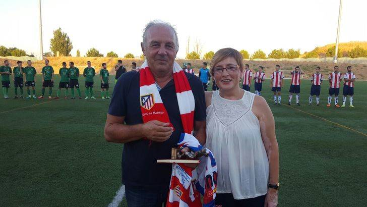 Alovera y Moscardó rinden homenaje a Manolo Coloscou