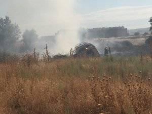 Declarado otro incendio en el paraje azudense el Alto del Vallejo