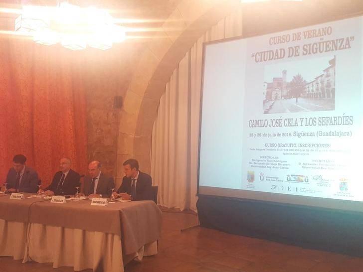 Más de cien personas asisten al Curso de Verano Ciudad de Sigüenza sobre 'Camilo José Cela y los sefardíes'