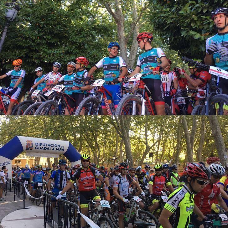 Más de 220 participantes en V Trofeo MTB del Circuito Diputación de Guadalajara