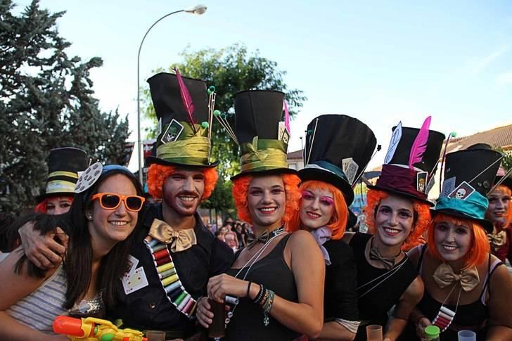 El chupinazo da comienzo a las fiestas de San Roque de Sigüenza