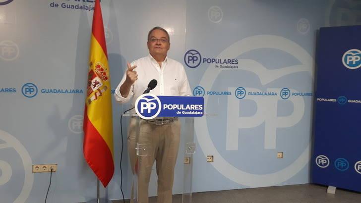 """De las Heras destaca como un """"acto de responsabilidad"""" que Rajoy haya aceptado el encargo del Rey para formar Gobierno"""