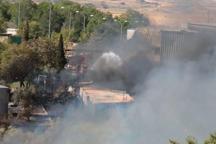 Critican que los guardias civiles del incendio de Chiloeches no tienen mascarillas