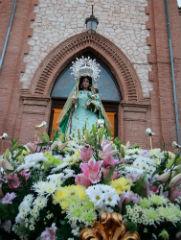 La Virgen de la Antigua ya espera en la iglesia de San Francisco sus días más importantes