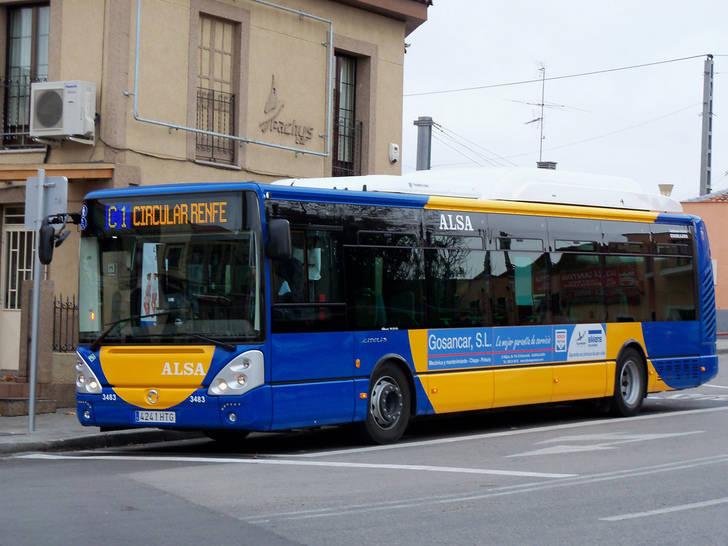 Los viajeros de pago de los autobuses urbanos han aumentado un 39% en 2016