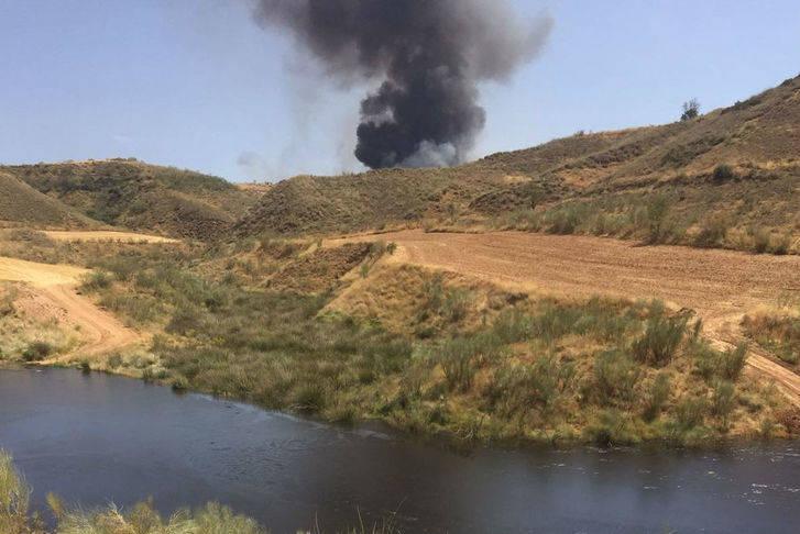 El PP de Azuqueca exige información clara y veraz sobre los riesgos del incendio de Chiloeches
