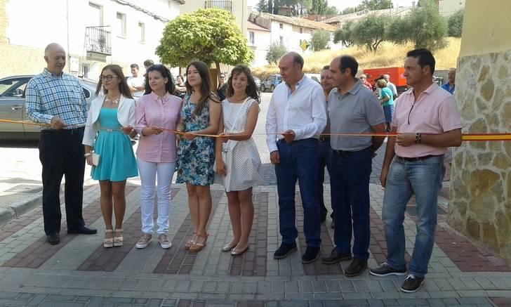 El presidente de la Diputación asiste a la inauguración de las obras de San Roque con motivo del inicio de las Fiestas de Jadraque