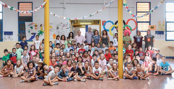 Más de mil niños han disfrutado de las actividades infantiles de verano de la Concejalía de Familia y Bienestar social