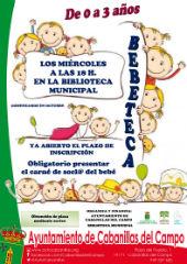 """Cabanillas pone en marcha la """"Bebeteca"""", para bebés de 0 a 3 años, ampliada ahora con una """"Pequeteca"""", para niños de 3 a 5"""
