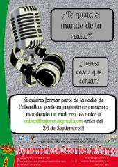 El Ayuntamiento busca voluntarios para impulsar una radio local participativa en Cabanillas del Campo