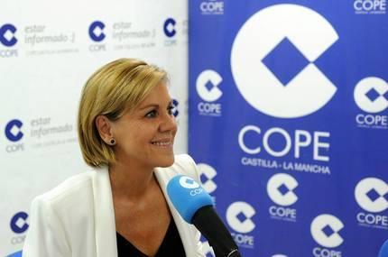 Cospedal: �Es de sentido com�n que el PP y el PSOE puedan llegar a acuerdos; nosotros lo intentamos desde diciembre�