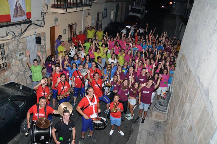 La gran participación y el buen ambiente, notas predominantes de las fiestas en honor a la Virgen de la Soledad en Yebra