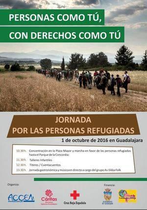 Cruz Roja, Accem y C�ritas participan en Guadalajara en la Jornada por las Personas Refugiadas