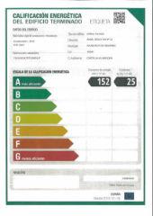 El edificio del Espacio Joven Europeo (EJE) de Azuqueca consigue la máxima calificación energética