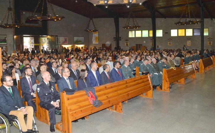 Azuqueca acoge la celebración comarcal de la festividad de la Guardia Civil