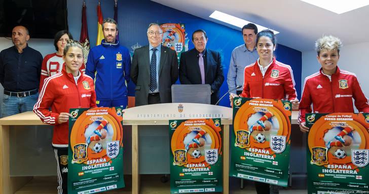 La Selección Española Absoluta de Fútbol Femenino se enfrenta a Inglaterra en el Pedro Escartín