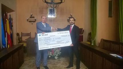La Obra Social 'La Caixa' colaboró con el Ayuntamiento de Sigüenza en su programa 'Desayunos y meriendas saludables'