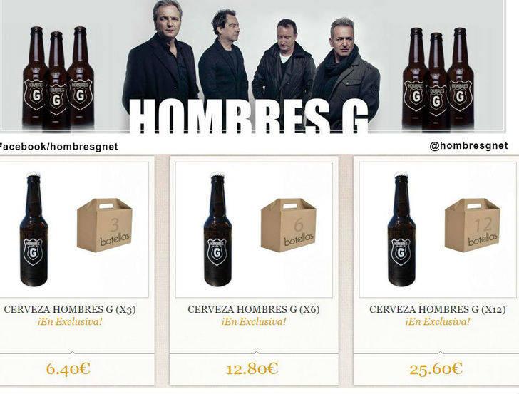Nace en Guadalajara la cerveza artesanal de los Hombres G