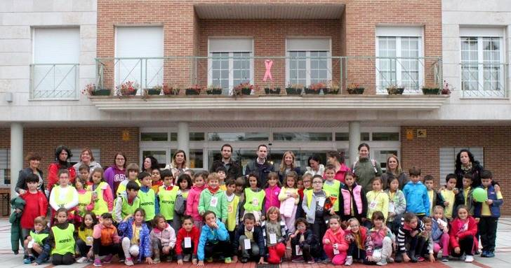 Visita del Colegio La Senda de Cabanillas a las instalaciones del Ayuntamiento