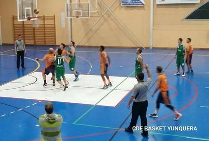 Dos de dos para el JUPER Basket Yunquera, esta vez frente el CB. Consuegra