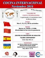 Abierto el plazo de inscripción en una nueva edición del curso de Cocina Internacional de Azuqueca