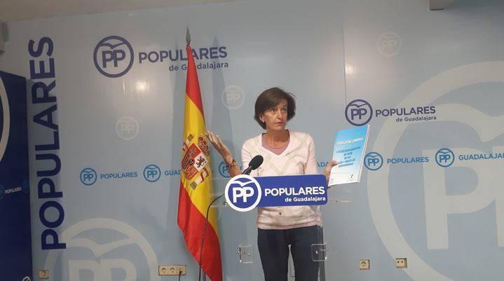 """Ana González: """"Los 118 incumplimientos de Page demuestran que su desgobierno es un fraude para Castilla-La Mancha"""""""