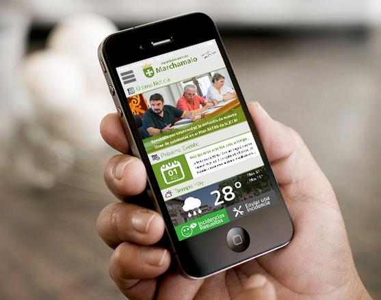 La aplicación del Ayuntamiento de Marchamalo para smartphones alcanza los 750 usuarios
