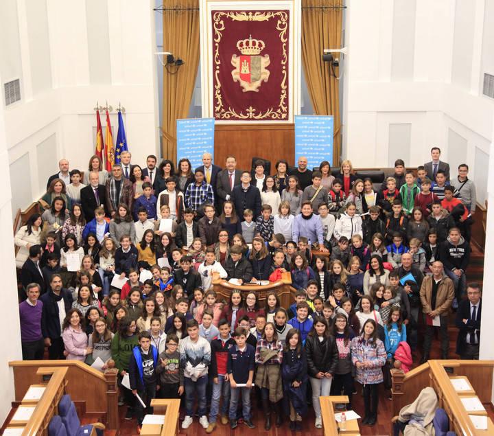 Los niños de Castilla-La Mancha piden ser escuchados para construir un mundo mejor