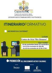 Abierta la inscripción en los cursos de informática e internet para mayores de 55 años en Azuqueca