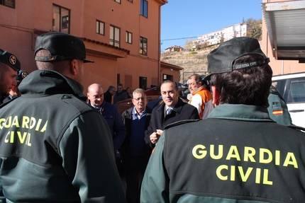 """Gregorio visita las obras realizadas en el cuartel de Atienza y destaca que """"son un ejemplo de colaboración entre instituciones"""""""