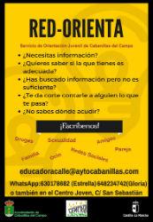 """Nace la Red Orienta, un servicio de orientación """"online"""" para jóvenes de Cabanillas del Campo"""