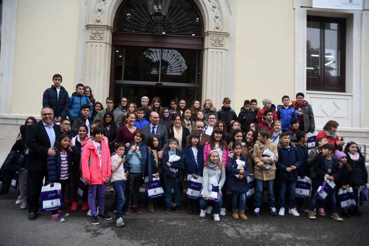 Un centenar de niños participan en el II Foro Provincial por la Participación Infantil organizado por la Diputación y UNICEF