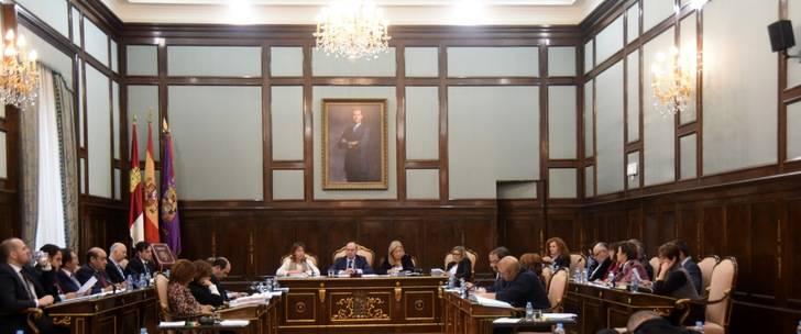 La Diputación de Guadalajara aprueba una declaración institucional con motivo del Día Internacional contra la Violencia de Género