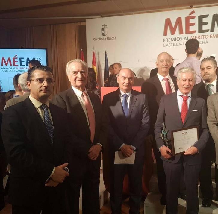 La Diputación felicita a DAGU y Mahou San Miguel por los premios empresariales de Castilla-La Mancha