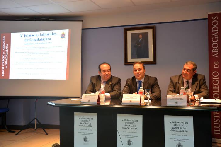 Más de 70 participantes en las V Jornadas Laborales organizadas por el Colegio de Abogados de Guadalajara