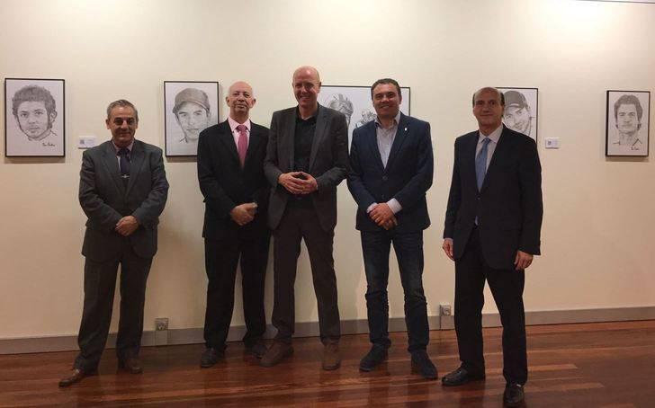 Abierta la exposición de Oscar Escalera en la Sala de Arte de Diputación