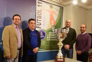 El 6 y 8 de diciembre se jugará en Yunquera de Henares la Copa Diputación de Fútbol 11