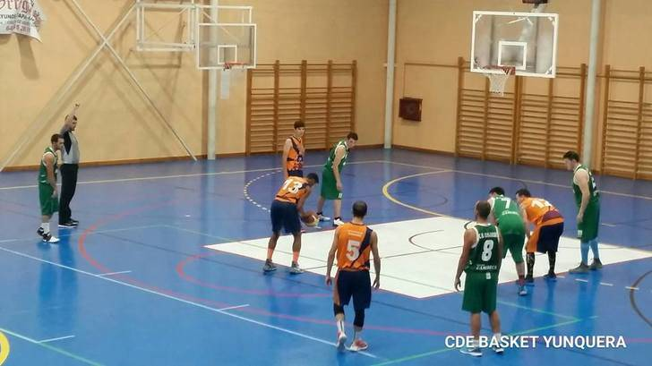 Primera victoria a domicilio del JUPER Basket Yunquera, que continua líder invicto