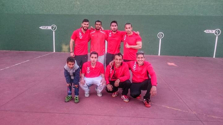Quinta jornada en la Liga Provincial de Frontenis de Guadalajara