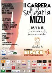 Nipace y Mizu animan a correr por una causa solidaria el próximo 5 de noviembre